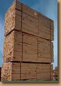 industrial crating lumber